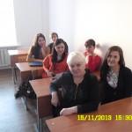 Студенты с куратором Борисовой Е.
