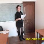 Доклад студентки