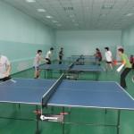 Итоги соревнований по настольному теннису