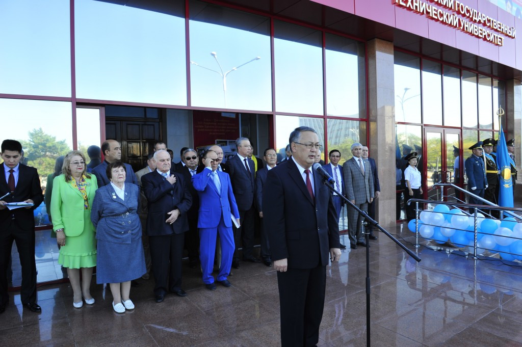 Solemn speech of the Rector of KSTU Gazaliyev A.M.