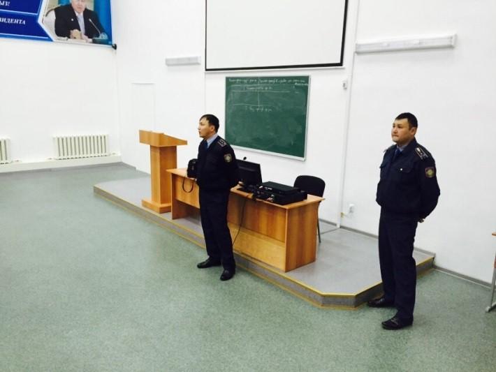 Встрече студентов Университета с сотрудниками Центрального ОП