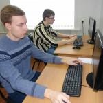 Студенты группы ВТ-13-2 Дик Дмитрий и Савельев Борис