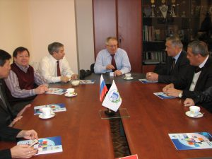 The Peoples Friendship University of Russia (PFUR), meeting with a delegation of scientists end educators of Uzbekistan